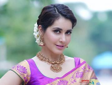 Raashi Khanna croons for a new song - Tamil Movie Cinema News