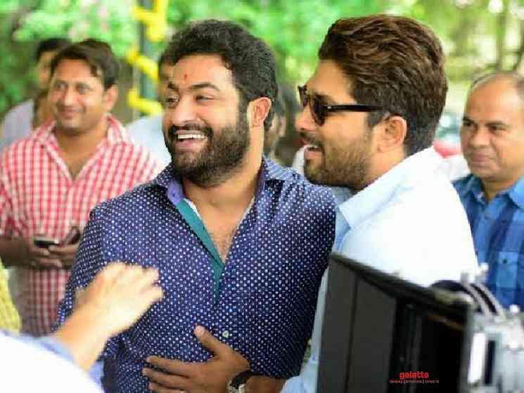 Jr NTR praises Allu Arjun and Ala Vaikunthapurramuloo team - Tamil Movie Cinema News