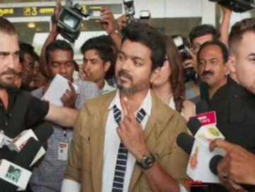 Sarkar vote connection in Thalapathy Vijay Bigil Atlee - Tamil Movie Cinema News