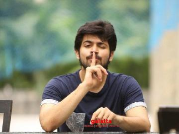 Harish Kalyan with director Sanjay Bharathi for G Dhananjayan - Tamil Movie Cinema News