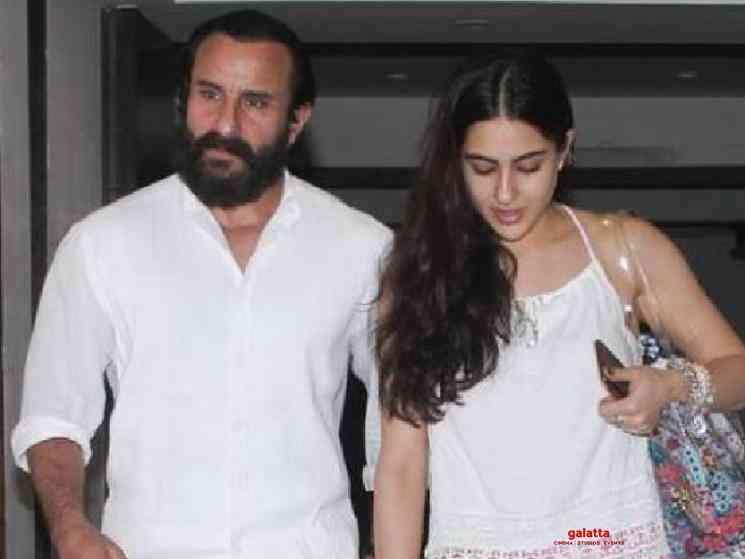 Sara Ali Khan kissed on hand by fan outside her gym - Tamil Movie Cinema News