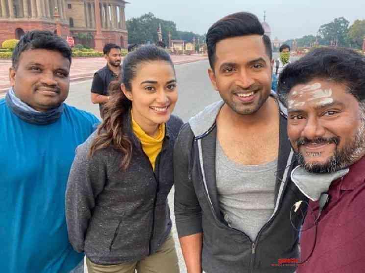 Arun Vijay Arivazhagan AV31 team wraps up Delhi Agra schedule - Tamil Movie Cinema News