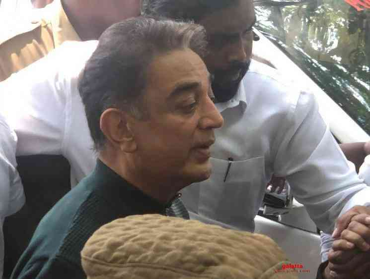 Indian 2 accident Two and half hours inquiry for Kamal Haasan - Tamil Movie Cinema News