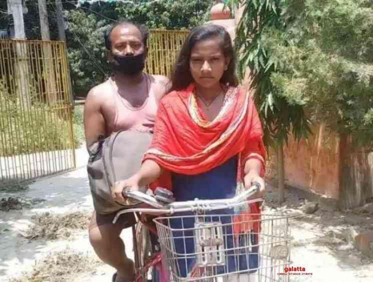 Indian Bank sponsor Bihar Jyoti Kumari education pedaling father - Tamil Movie Cinema News