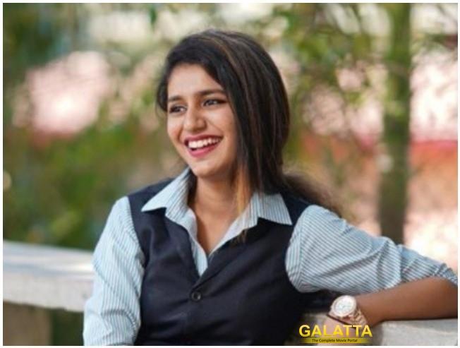 Priya Prakash Varrier In A Role In Ranveer Singh Rohit Shetty Karan Johar Simmba
