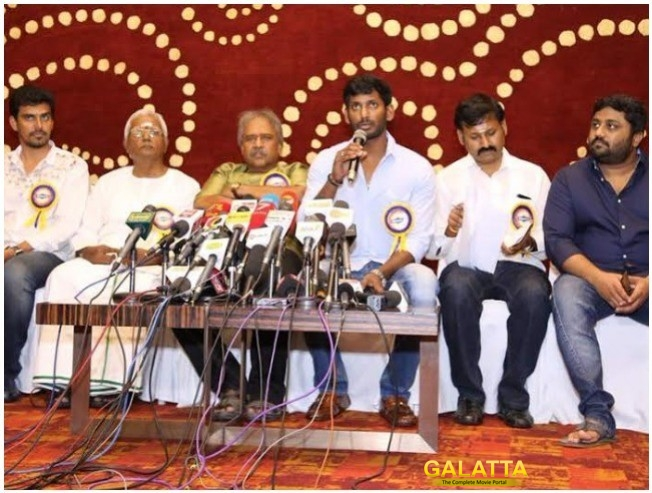 Vishal And TFPC List Their Demands To Withdraw Tamil Nadu Theatre Strike