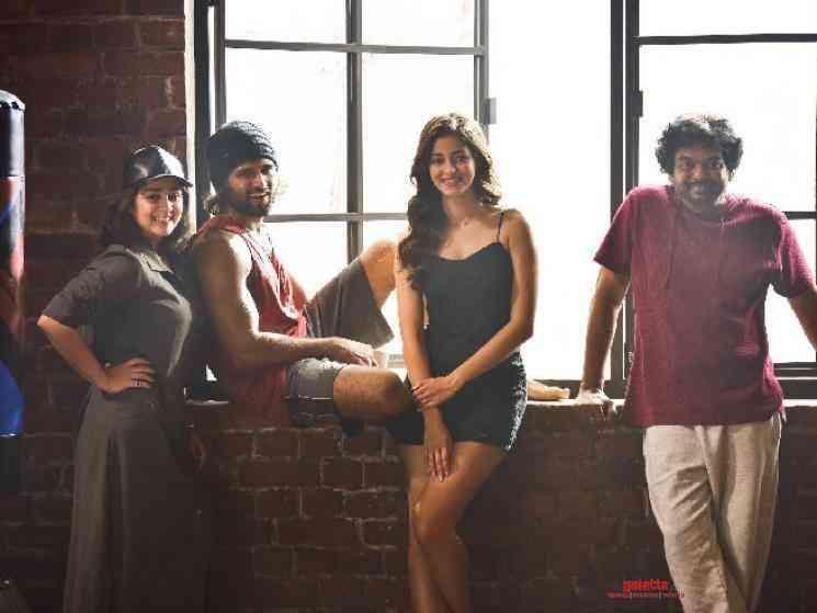 Vijay Deverakonda Ananya Panday project majority shoot over - Tamil Movie Cinema News