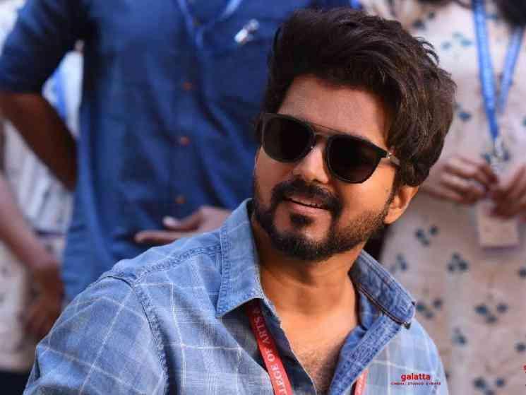 Thalapathy Vijay takes off for vacation after finishing Master - Malayalam Movie Cinema News