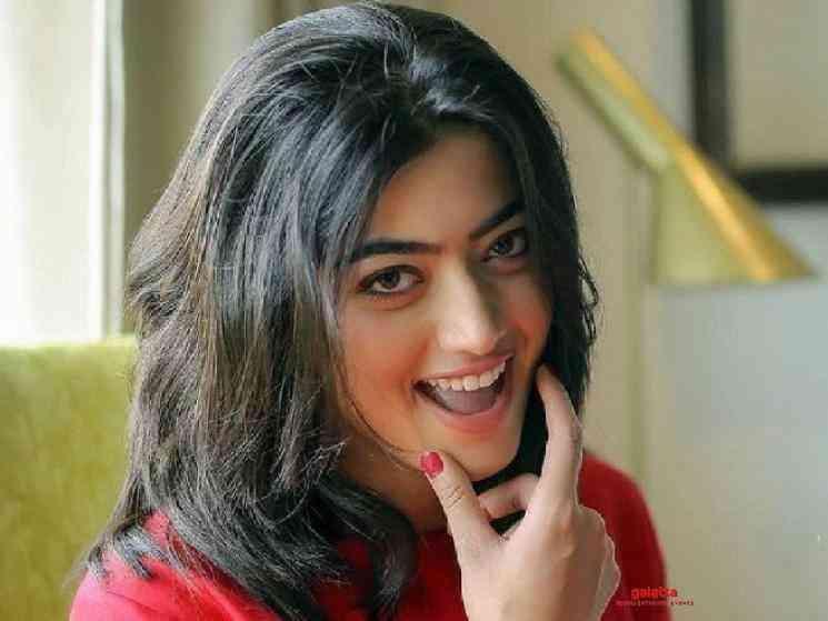 Rashmika manager clarifies IT raids were only on father property - Tamil Movie Cinema News