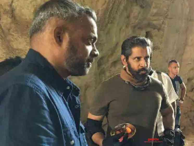 Chiyaan Vikram Ajay Gnanamuthu Cobra team fly to Paris for shoot - Movie Cinema News