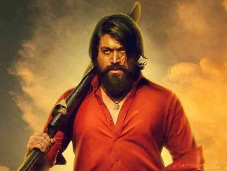KGF Chapter 2 second look poster releasing on January 8 2020 - Tamil Movie Cinema News