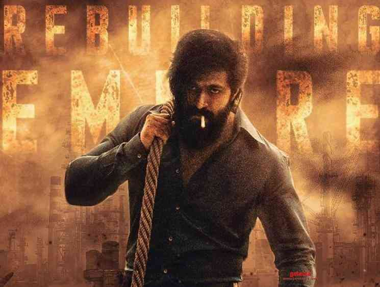 Kgf Chapter 2 Teaser Releasing On January 8 For Yash Birthday