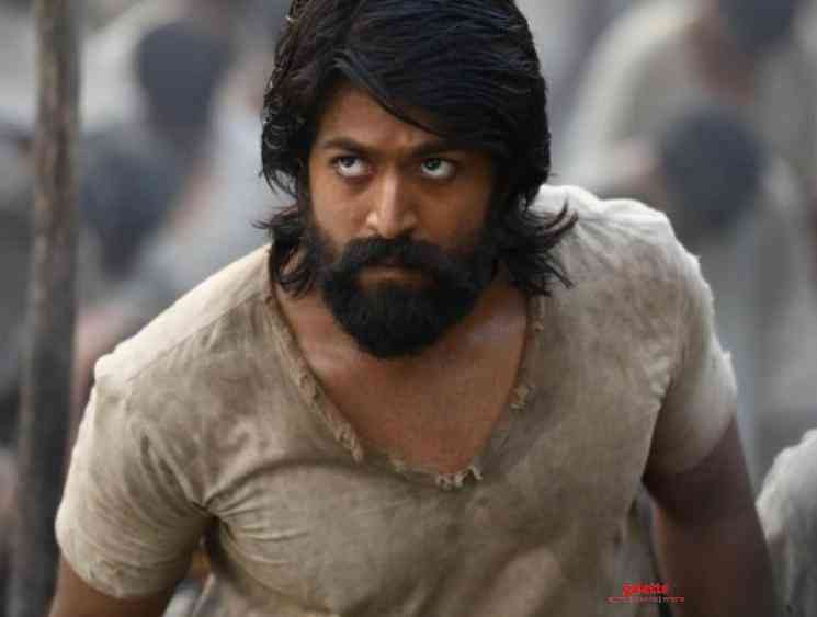 KGF Chapter 2 second look poster released along with a surprise video - Kannada Movie Cinema News