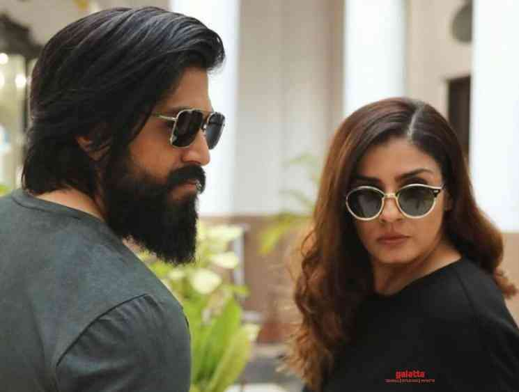 Raveena Tandon wraps her portions in KGF: Chapter 2 - Tamil Cinema News