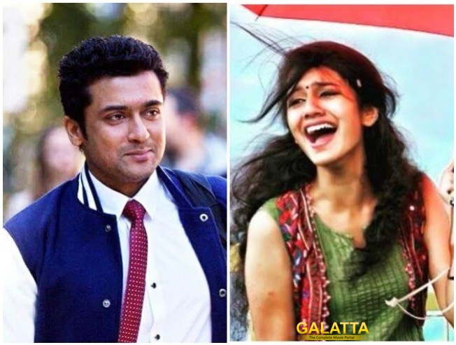 Priya Prakash Varrier Not To Romance Suriya In Suriya 37