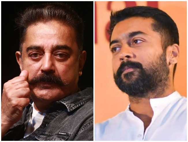 Kamal Haasan's strong support for Suriya - check out why!