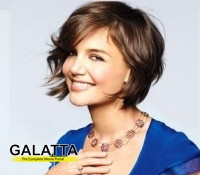 Katie Holmes comfortable in her own skin