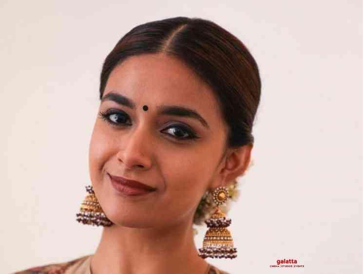 Keerthy Suresh National Awards 2019 Mahanati Nadigaiyar Thilagam - Tamil Movie Cinema News