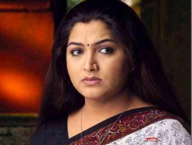 Khusbhu relative passes away due to COVID 19 - Tamil Movie Cinema News