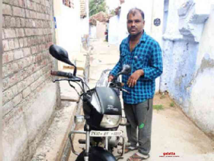 Migrant returns stolen bike to owner by courier - Tamil Movie Cinema News