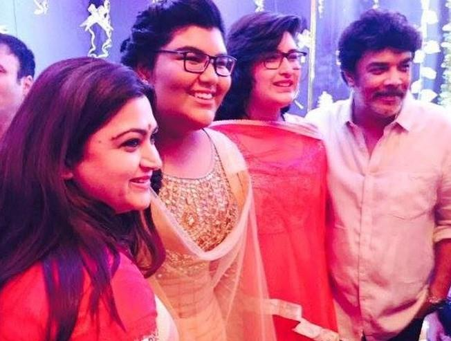 Kushboo daughter starting her career at 16 like her mom