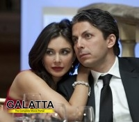 Lisa Ray's first visit to India after marriage!