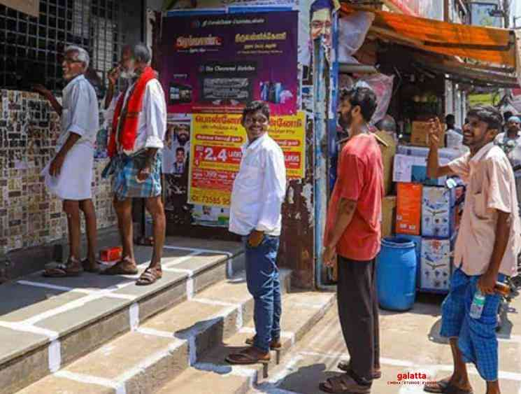 Lockdown TASMAC new timings for each age group to buy liquor - Tamil Movie Cinema News