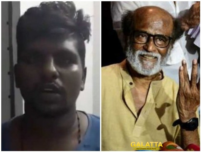 Tuticorin Youth Issues Clarification Over Controversial Statement About Rajinikanth