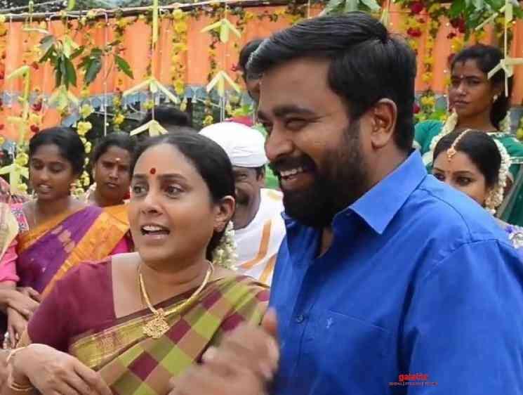 MGR Magan Making Video Sasikumar Mirnalini Ravi Sathyaraj Ponram - Movie Cinema News