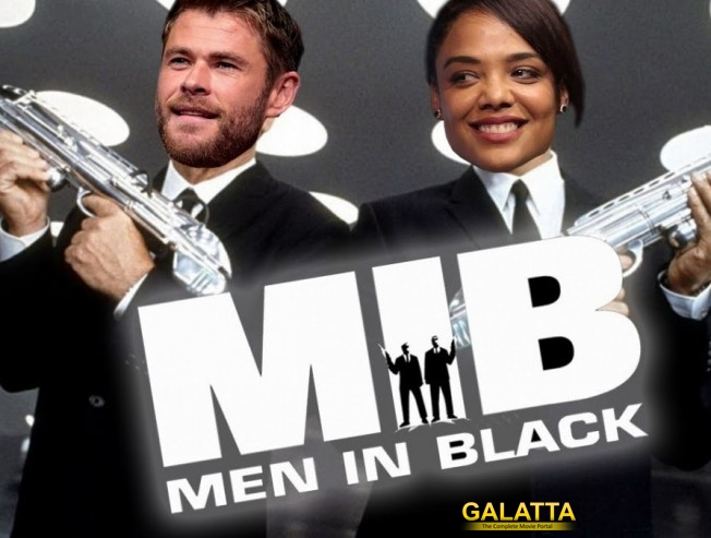 Men In Black 4 Chris Hemsworth Tessa Thompson June 2019