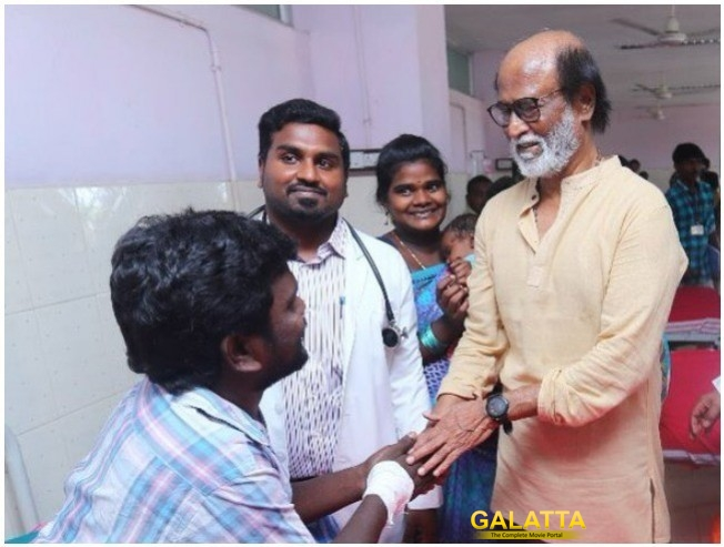 Rajinikanth Donates Two Lakhs For All Those Killed In The Sterlite Protests At Tuticorin