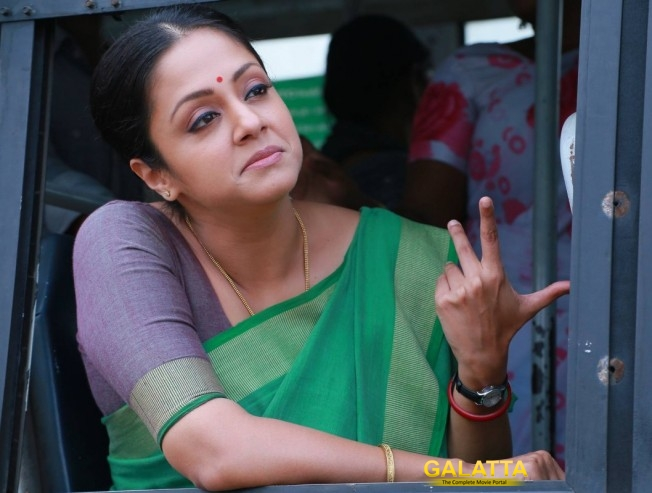 Jyothika Completes Kaatrin Mozhi Portions In Single Stretch In Single Schedule
