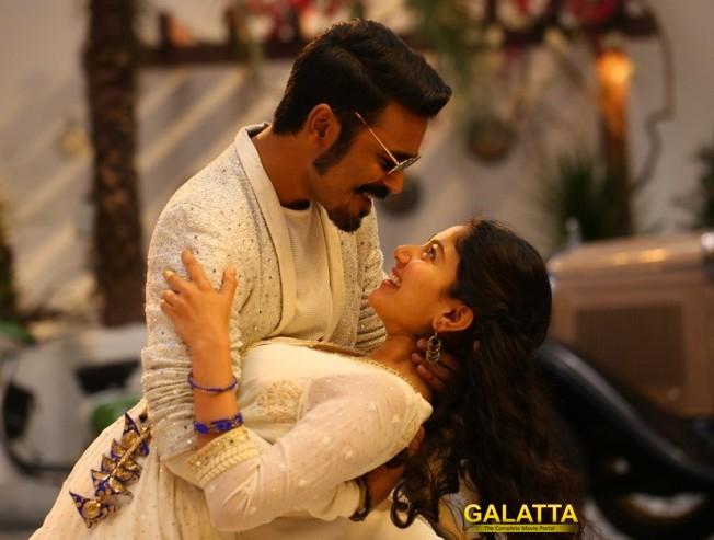Dhanush and Sai Pallavi for Rowdy Baby song in Maari 2