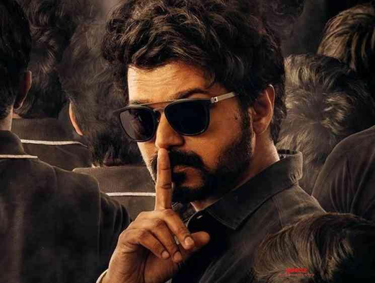 Master Movie Second Look Poster Thalapathy Vijay Vijay Sethupathi - Telugu Movie Cinema News
