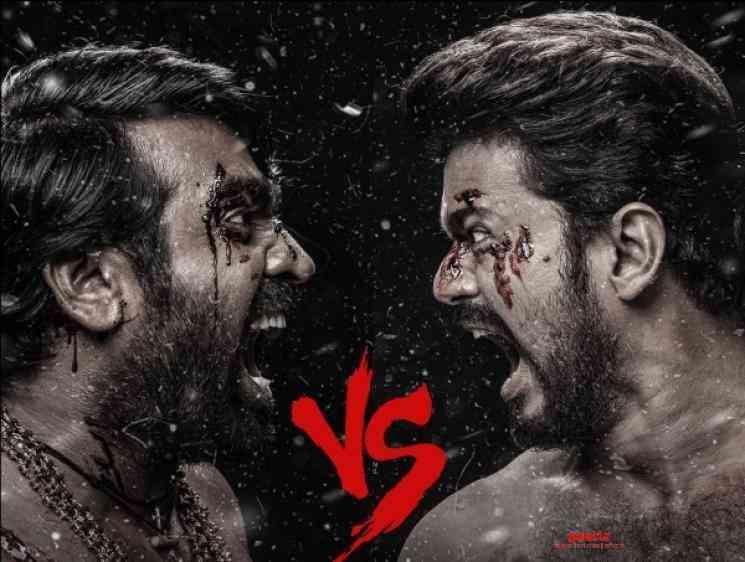 Master Movie Third Look Poster Released Vijay Vijay Sethupathi - Tamil Movie Cinema News