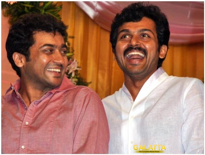Suriya's Role In Karthi's Kadai Kutty Singam Revealed