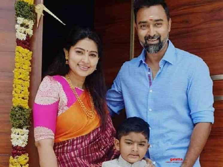 Sneha Prasanna blessed with a baby girl - Tamil Movie Cinema News