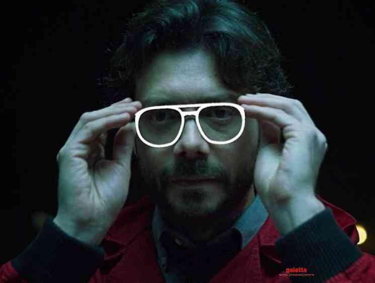 Money Heist La Casa de Papel The Professor Adjusting His Glasses - Tamil Movie Cinema News