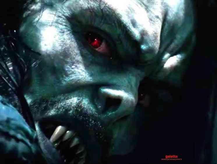 Morbius teaer trailer next big Marvel superhero film Jared Leto - Tamil Movie Cinema News