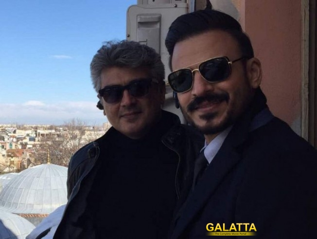 Vivek Oberoi Congratulates Ajith For 26 Years In Tamil Cinema