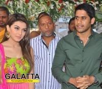 Naga Chaitanya - Hansika film titled Durga!