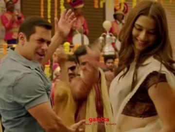 Dabangg 3 Making of Naina Lade Salman Khan Saiee Manjrekar - Telugu Movie Cinema News