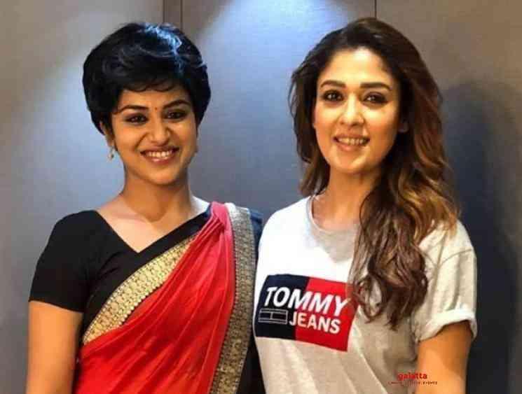 Bigil actress Indhuja joins Nayanthara Mookuthi Amman - Movie Cinema News