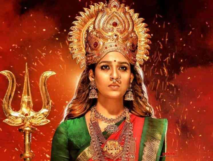 Nayanthara Mookuthi Amman overseas rights A and P Groups - Tamil Movie Cinema News