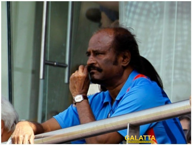 Rajinikanth Request To CSK Management For Players To  Wear Black Bands Rejected