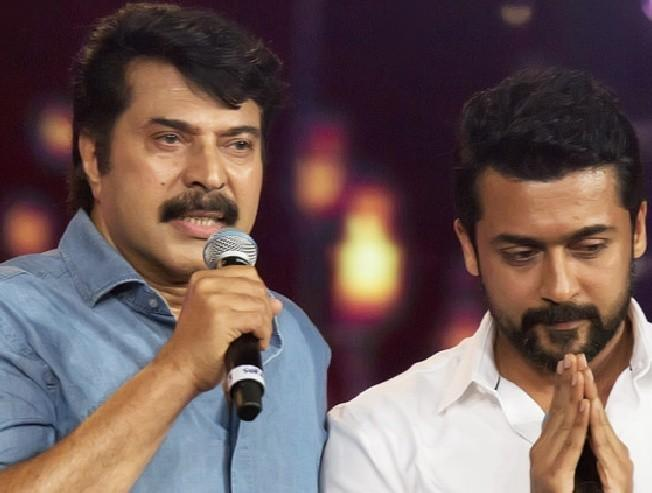 Suriya's latest tweet to Mammootty and his reply to that becomes viral - check out