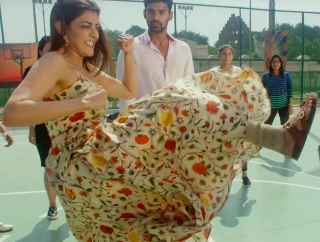 Kajal Aggarwal in action mode - trailer of her new film