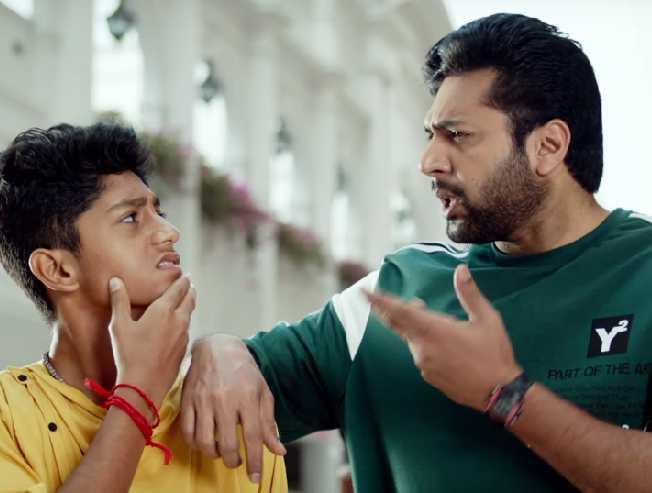 Jayam Ravi starrer Comali Glimpse Video Promo Teaser Pradeep Ranganathan