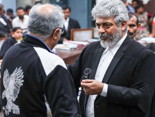 Boney Kapoor side denies Nerkonda Paarvai business rumours Ajith