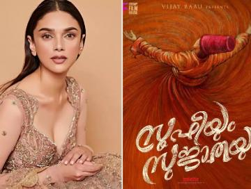 Aditi Rao Hydari set to make her comeback in Mollywood with Sufiyum Sujatayum!